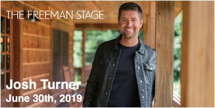 6.30 Josh Turner Concert Transportation - Sunday, June 30th, 2019