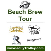 Jolly Trolley Beach Brew Tours!