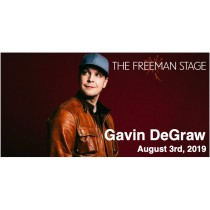 8.03 Gavin DeGraw Concert Transportation - Saturday, August 3rd, 2019
