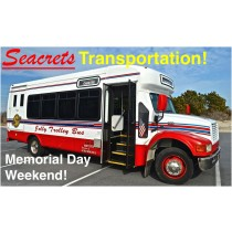 5.25 Memorial Day Weekend Transportation to/from Seacrets, Ocean City