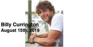 8.15 Billy Currington Concert Transportation - Thursday, August 15th, 2019