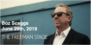 6.29 Boz Scaggs Concert Transportation - Saturday, June 29th, 2019