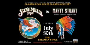 7.30 Steve Miller & Marty Stuart Concert Transportation - Tuesday, July 30th, 2019