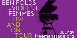 7.29 Ben Folds & The Violent Femmes Concert Transportation - Monday, July 29th, 2019