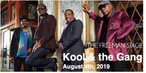 8.04 Kool & The Gang Concert Transportation - Sunday, August 4th, 2019