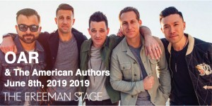 6.08 OAR & The American Authors Concert Transportation - Saturday, June 8th, 2019