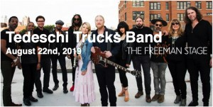 8.22 Tedeschi Trucks Band Concert Transportation - Thursday, August 22nd, 2019